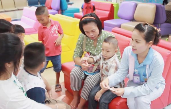 """โครงการ """"สร้างเสริมสุขภาพ และพัฒนาการของเด็กแรกเกิด – 5 ปี ในชุมชน"""""""